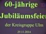 2014 Jubiläumsfeier 60 Jahre KG Ulm